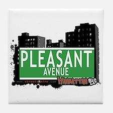 PLEASANT AVENUE, MANHATTAN, NYC Tile Coaster