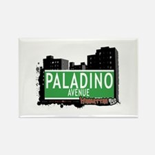 PALADINO AVENUE, MANHATTAN, NYC Rectangle Magnet