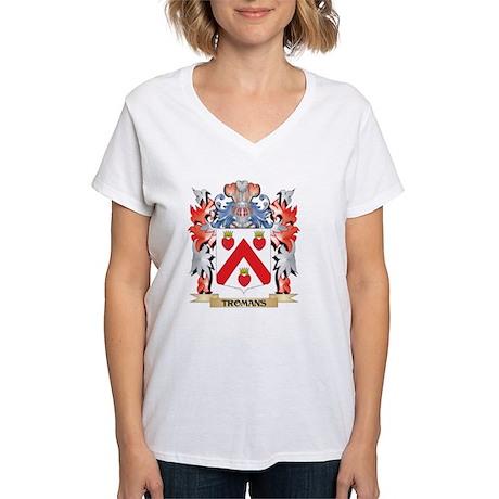 Tromans Coat of Arms - Family Crest T-Shirt