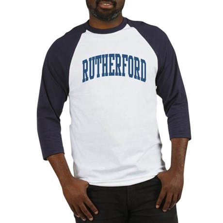 Rutherford Collegiate Style Name Baseball Jersey