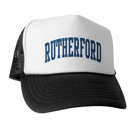 Rutherford Collegiate Style Name Trucker Hat