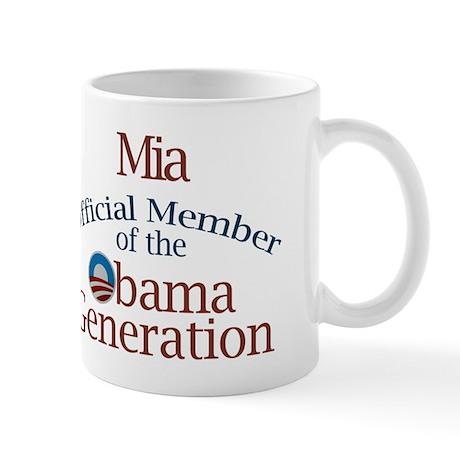Mia - Obama Generation Mug