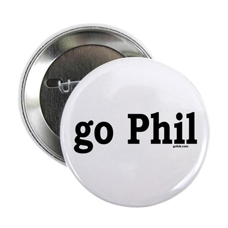 "go Phil 2.25"" Button (100 pack)"