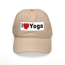 I Love Yoga Baseball Cap