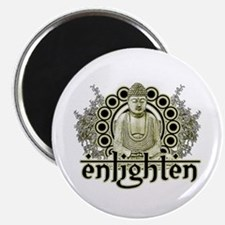 "Buddha ""Enlighten"" Magnet"