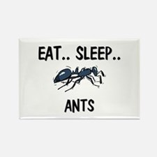 Eat ... Sleep ... ANTS Rectangle Magnet