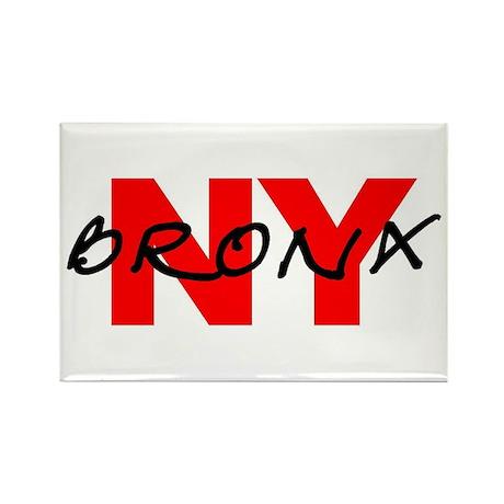 BRONX NY Rectangle Magnet (100 pack)