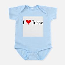 I Love Jesse Infant Creeper