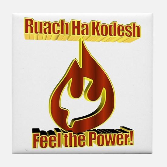 Feel the Power! Tile Coaster