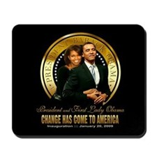 Inauguration - Change Mousepad