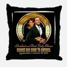 Inauguration - Change Throw Pillow