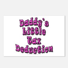 Daddy's Little Tax Deduction Postcards (Package of