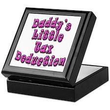 Daddy's Little Tax Deduction Keepsake Box