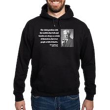 Bertrand Russell 2 Hoodie