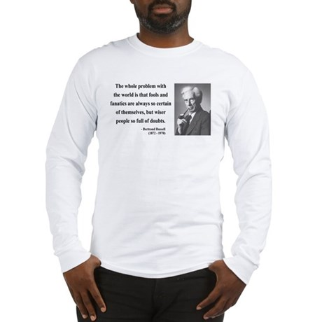 Bertrand Russell 2 Long Sleeve T-Shirt