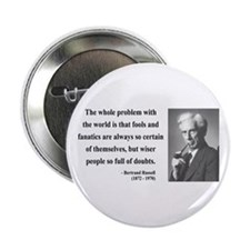 "Bertrand Russell 2 2.25"" Button"