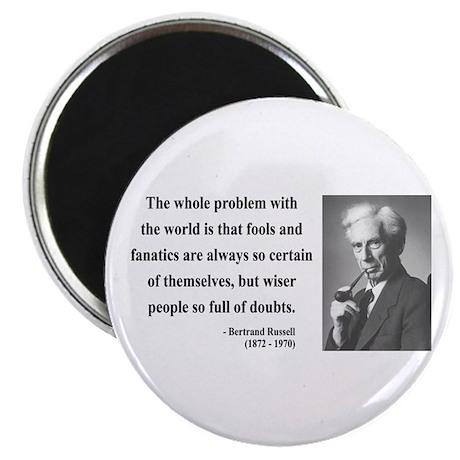 "Bertrand Russell 2 2.25"" Magnet (10 pack)"