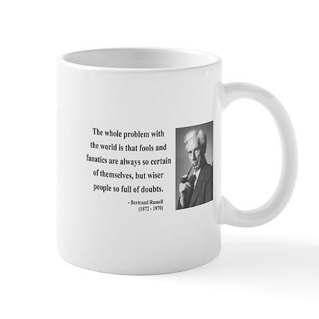 Bertrand Russell 2 Mug
