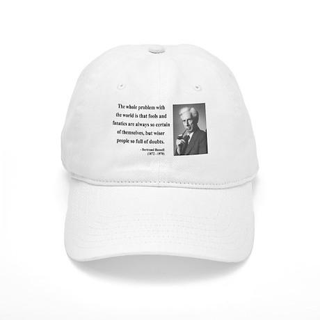Bertrand Russell 2 Cap