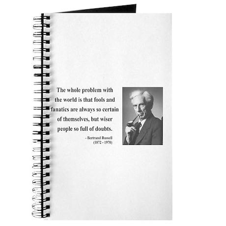 Bertrand Russell 2 Journal