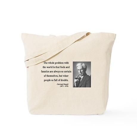 Bertrand Russell 2 Tote Bag