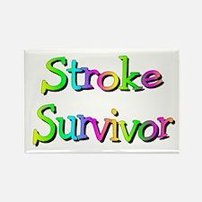 Stroke Survivor Rectangle Magnet