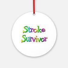 Stroke Survivor Ornament (Round)
