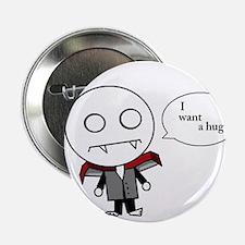"Cute Hug zombie 2.25"" Button"