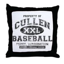 Property of Cullen Baseball Throw Pillow