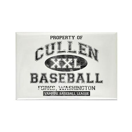 Property of Cullen Baseball Rectangle Magnet (10 p