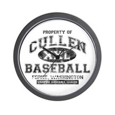 Property of Cullen Baseball Wall Clock
