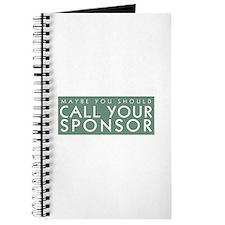 Call Your Sponsor Journal