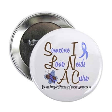 "Someone I Love 1 Butterfly 2 PrC 2.25"" Button (100"