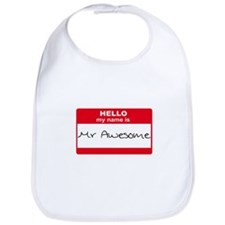 My Name Is Mr Awesome Bib