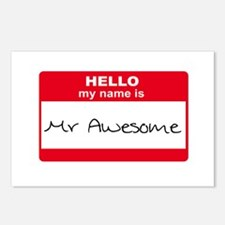 My Name Is Mr Awesome Postcards (Package of 8)