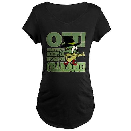 Crambone Pecos Maternity Dark T-Shirt
