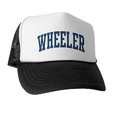 Wheeler Collegiate Style Name Trucker Hat