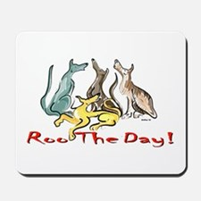 Greyhound Roo Color Mousepad