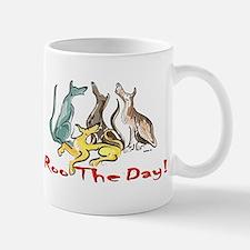 Greyhound Roo Color Mug