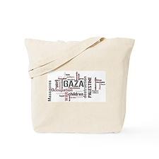 Gaza words Tote Bag