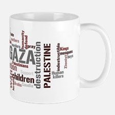 Gaza words Mug