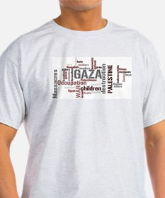 Gaza words T-Shirt