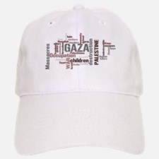 Gaza words Baseball Baseball Cap