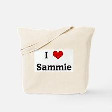 I Love Sammie Tote Bag