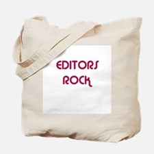 EDITORS  ROCK Tote Bag