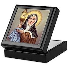 St Clare Keepsake Box