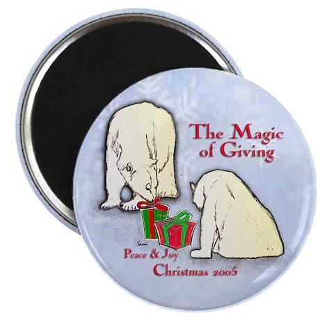 Polar Bears Gift Magnet