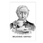 Delicious Coffee! Postcards (Package of 8)