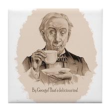 Great Tea Oval Tile Coaster