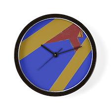Ski Jump Wall Clock